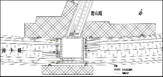 济南轨道交通4号线一期工程雪山路站即将围挡施工