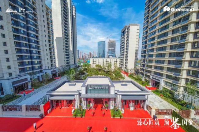 济南绿地IFC中央公馆盛情举办业主开放日,亲鉴CBD品质人居