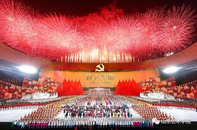 """献礼建党百年,山艺师生""""艺""""心向党"""