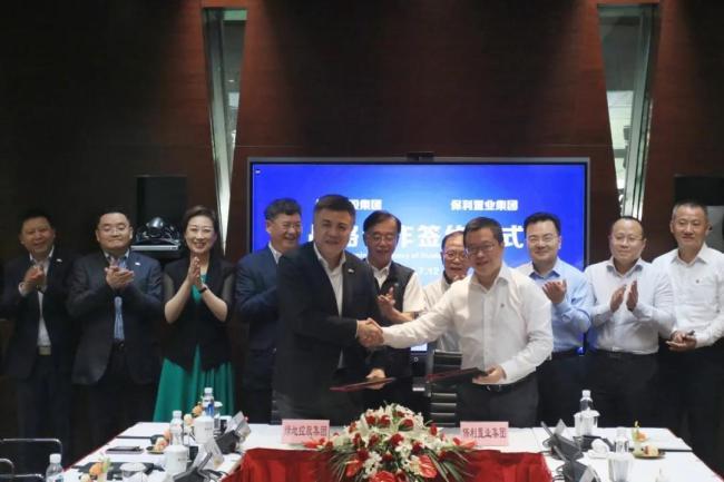 绿地集团与保利置业集团展开五方面战略合作,重点聚焦在上海等长三角区域