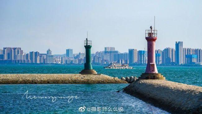 穿越历史,捕捉威海刘公岛的夏日光影、清爽冰蓝