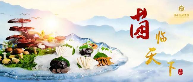 """七彩云南,菌菇飘香——济南南郊宾馆""""菌临天下""""美食节鲜美开幕"""