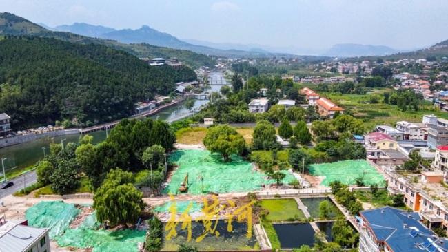 山东省道103线南山段征迁房屋开拆,将扩建旅游公路