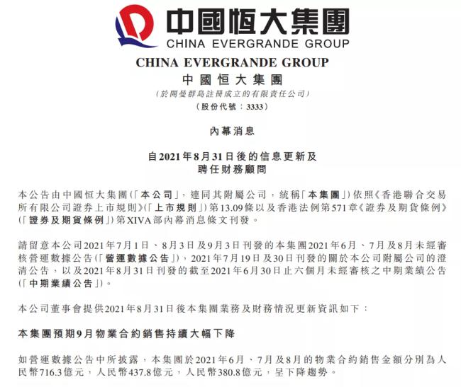 """受母公司恒大集团牵连,恒大汽车市值""""蒸发""""超6000亿港元"""