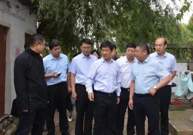 魏玉蛟到淄博高新区中埠镇督导全国文明城市创建工作