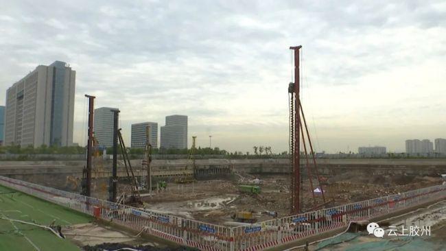 上合组织国家青年创业中心项目建设加快推进,12月底完成桩基施工