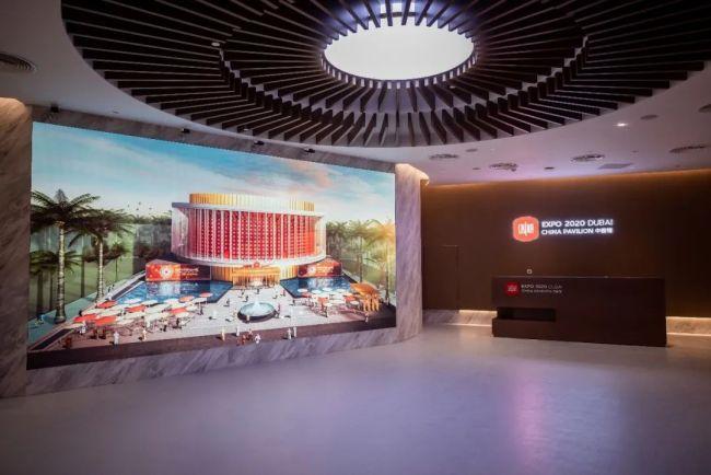 由科大讯飞建设、运营,全球中文学习平台亮相迪拜世博会中国馆