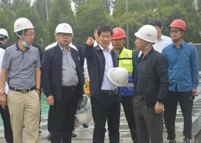 魏玉蛟带队调研淄博高新区内重点项目建设情况
