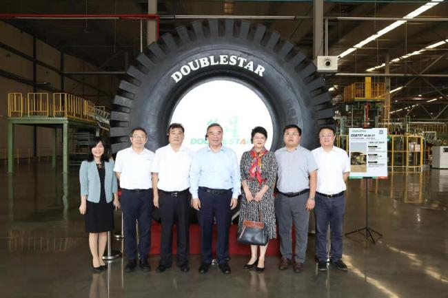 中国企业改革与发展研究会会长宋志平一行到双星调研