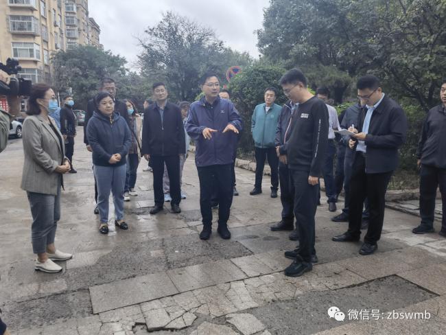 马晓磊到淄博张店区、经开区和高新区调研督导国家卫生城市迎审和全国文明城市创建工作