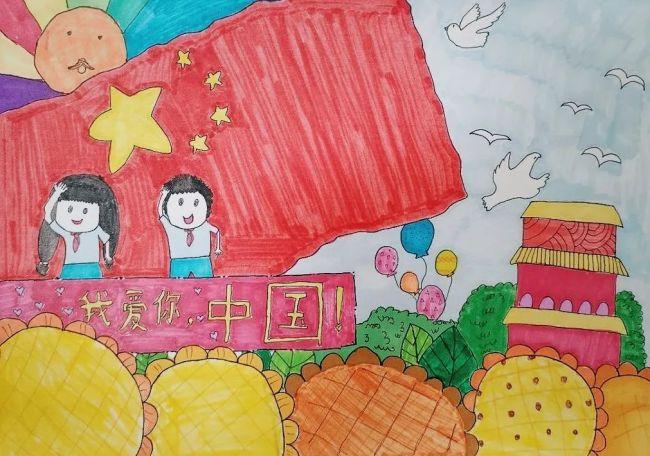 """""""与国同梦 逐梦前行"""",济南高新区汉峪小学用实际行动表达爱国之情"""