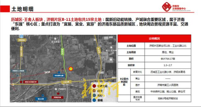济南最新供地:华山北规划鹤华文创水乡,103省道预留轨交用地