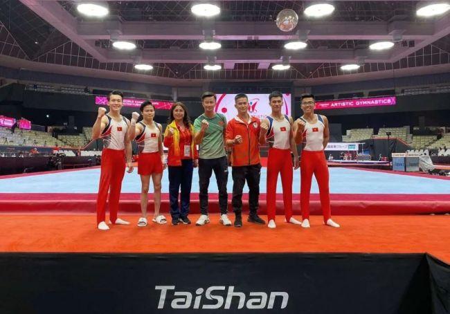 2021世界体操锦标赛火热进行中,泰山体育助力中国健儿高水平发挥