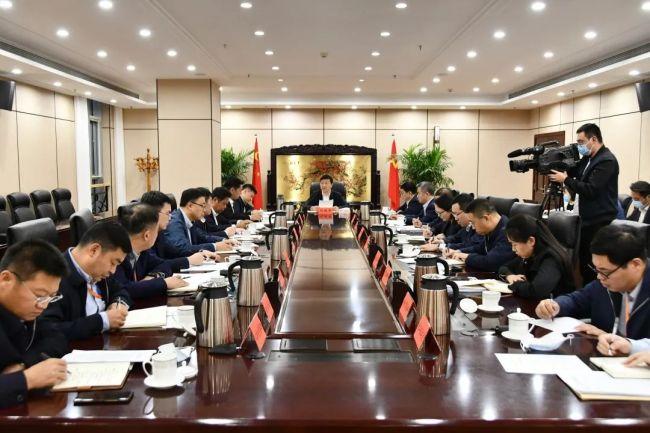 刘建军:以党建引领上合示范区高质量发展