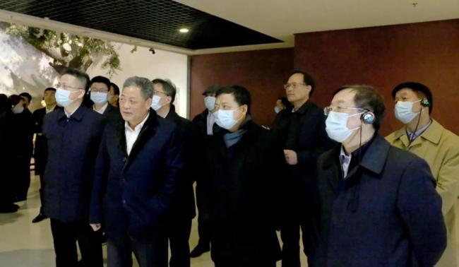 中央统战部副部长,全国工商联党组书记、常务副主席徐乐江一行到大唐西市考察