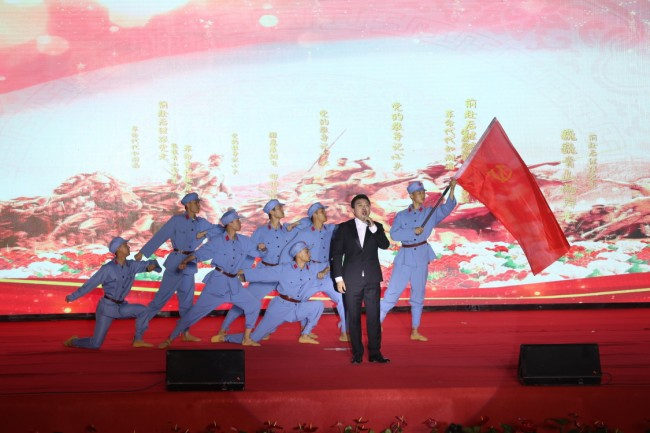 校地合作办歌会  陕西10所高校在咸阳同庆建党100周年
