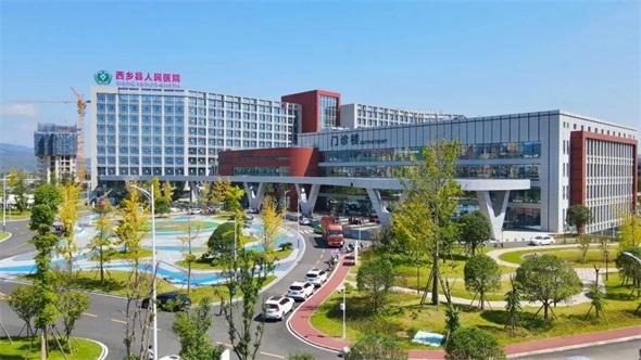 总投资4.58亿元!建有直升飞机停机坪,汉中这家新医院启用