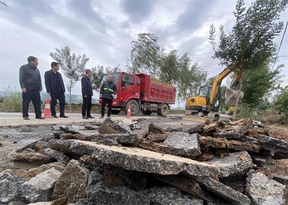路产损失达2200余万元!陕西大荔积极修复公路水毁200余处