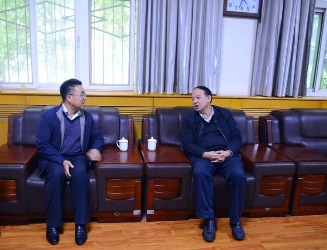 陕西省委教育工委专家组对西安石油大学文明校园创建工作进行预评估