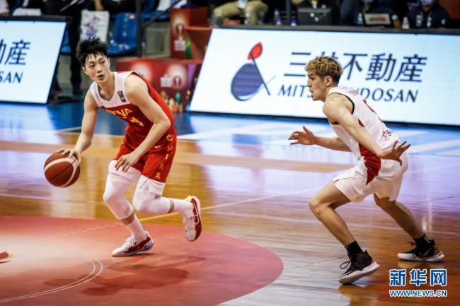 篮球-亚洲杯预选赛:中国胜日本
