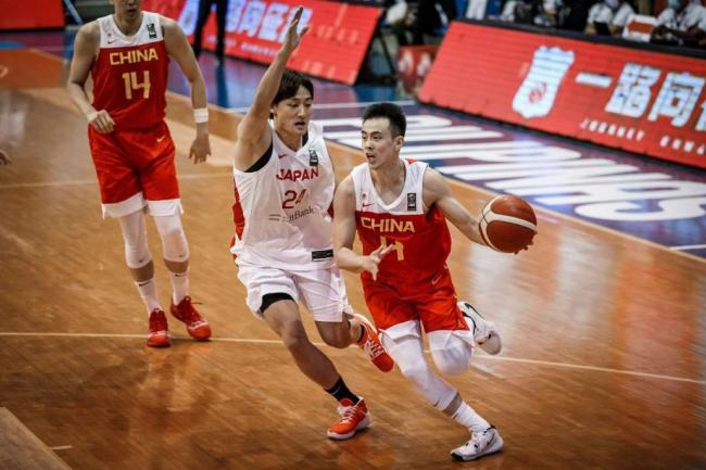 [图]亚预赛-中国男篮逆转日本 3连胜提前晋级