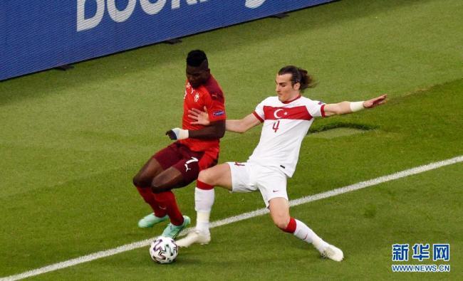欧锦赛:瑞士队胜土耳其队