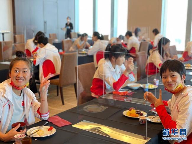 无惧近20小时舟车劳顿 中国女足开始恢复性训练