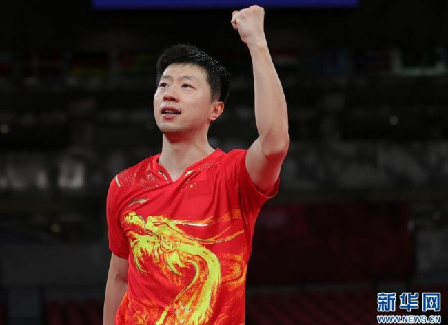 乒乓球:马龙晋级男单决赛