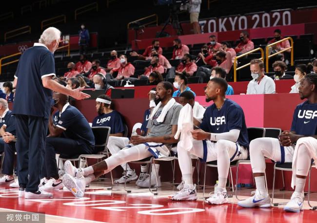 一度落后15分翻盘!美国男篮逆转澳大利亚晋级决赛