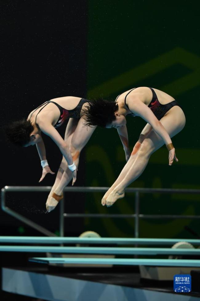 全运会-跳水女子团体赛:广东队夺冠