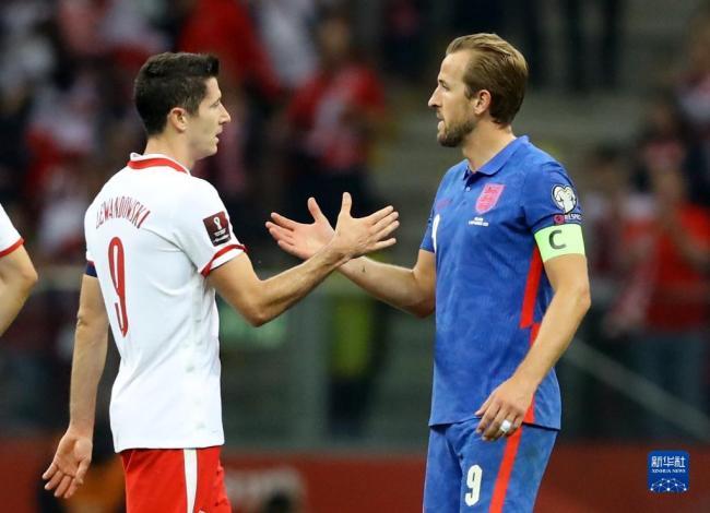 世界杯预选赛:英格兰战平波兰
