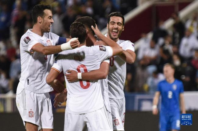 世界杯预选赛:西班牙胜科索沃