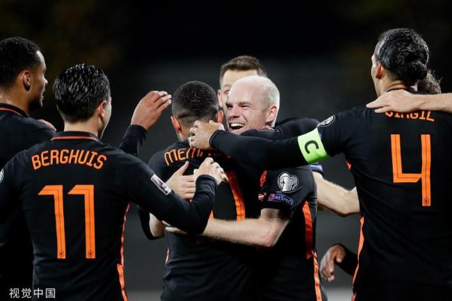 克拉森建功 荷兰1-0拉脱维亚夺三连胜