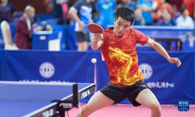 2021年全国职工乒乓球大赛在京开幕