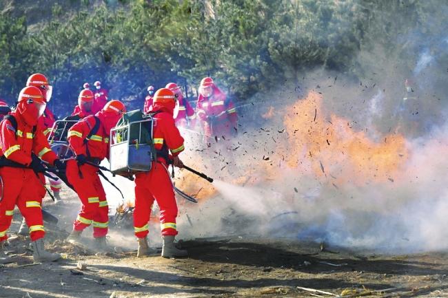 防火灭火应急演练
