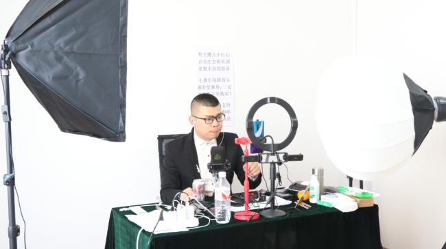 青岛快手官方直播电商基地落户城阳蔬菜水产品批发市场
