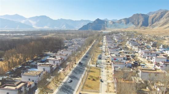 西藏农村人居环境焕然一新