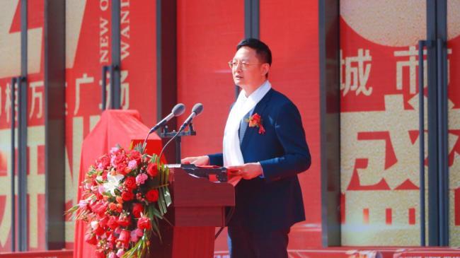 万达集团成都城市公司总经理邓建华