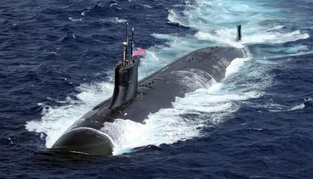 美军核潜艇南海撞击事件后首张卫星照片披露!