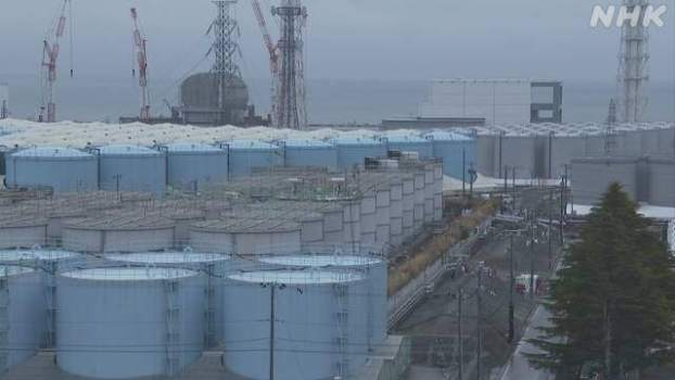 日本政府正式决定将福岛第一核电站核污水排入大海