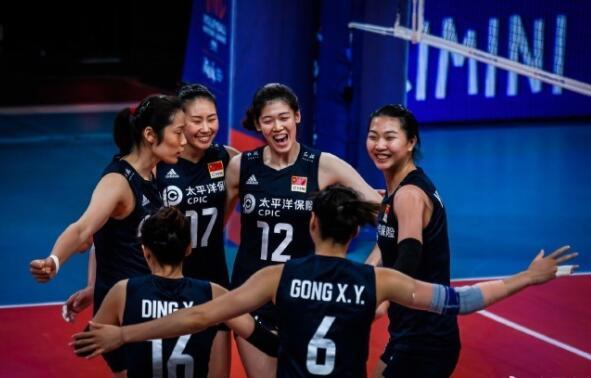 中国女排3-0俄罗斯