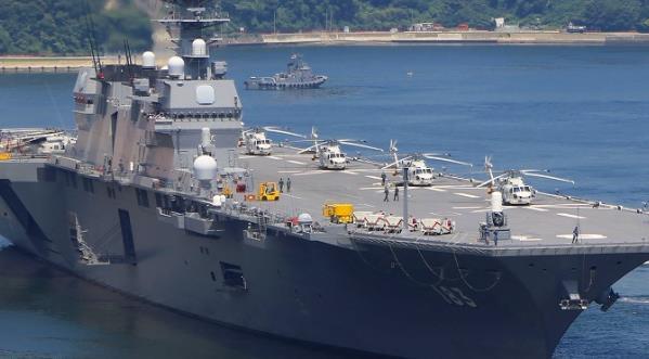 """日本出云号进行""""航母化""""改造 意在牵制中国"""