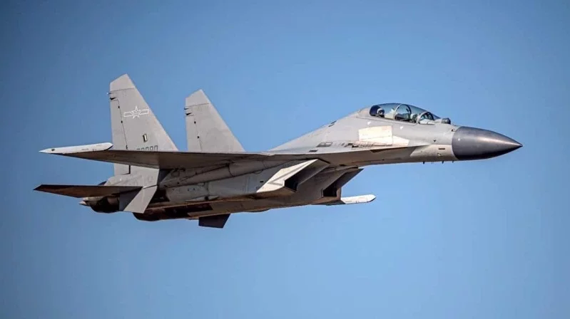 台媒:解放军军机今日清晨进入台湾西南空域