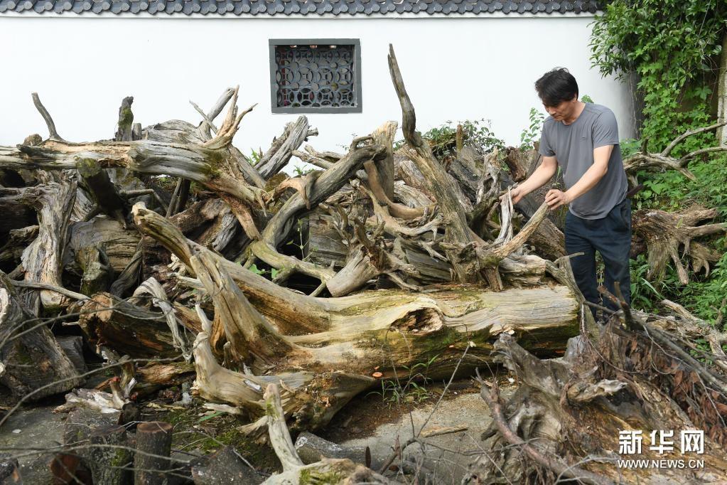 靠双手逐梦的民间木雕艺术家