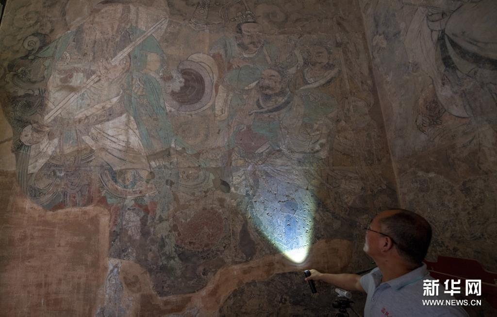 山西永乐宫启动壁画修复工程