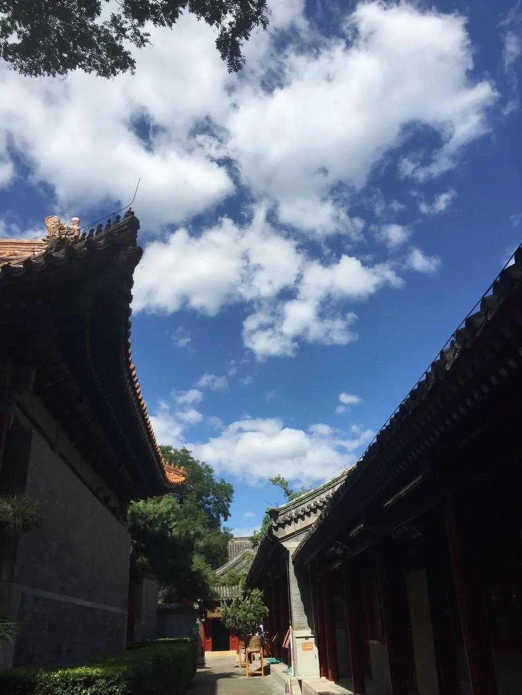 美丽寺院   北京广济寺