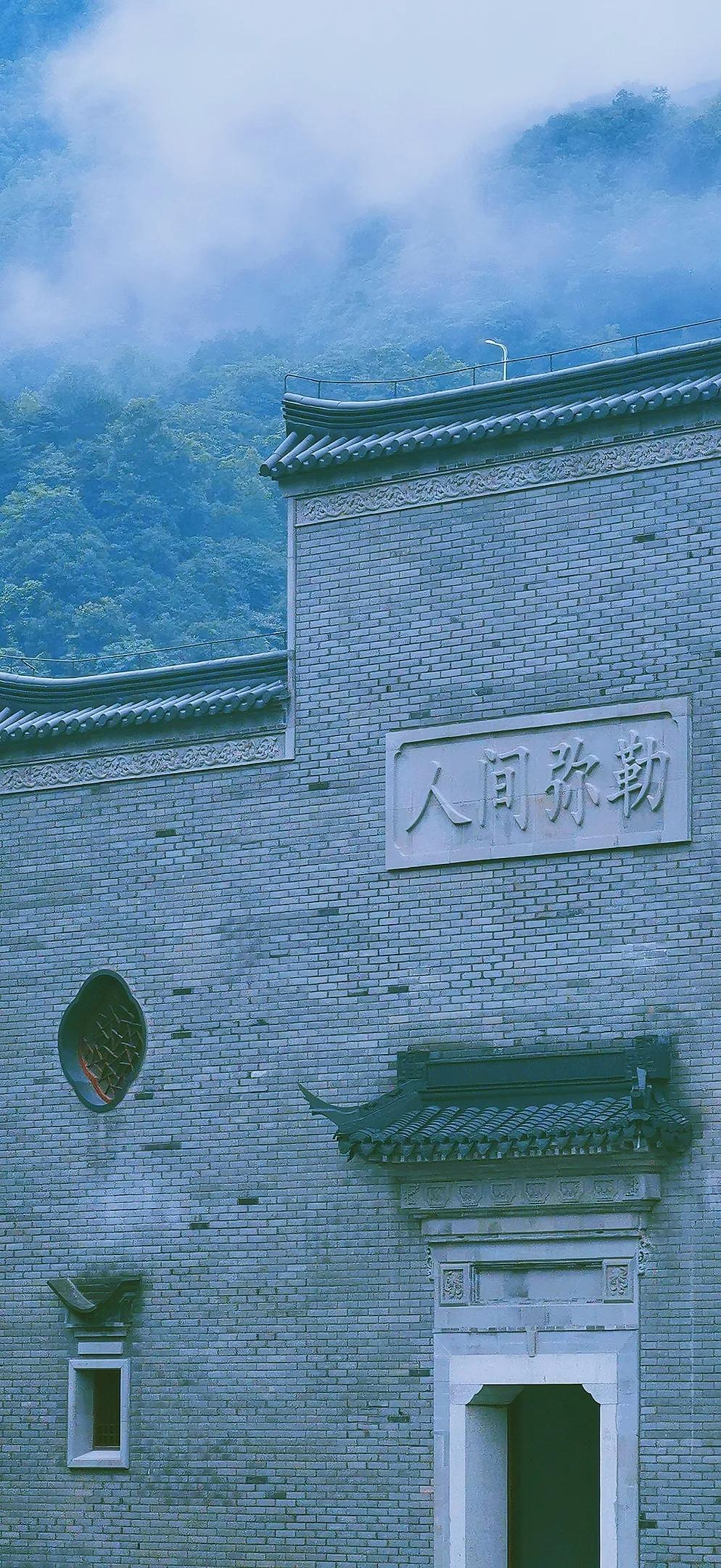 美丽寺院 | 建设中的雪窦山资福律寺