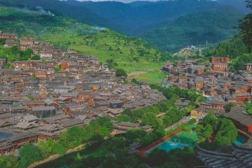 西江千户苗寨,古村落美在何处?