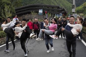 浙江景宁趣味运动庆丰收