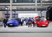 国产特斯拉Model Y亮相海口新能源车展